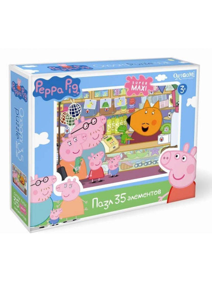 Пазл «Peppa Pig. Сувенирная лавка» 35 MAXI элемента
