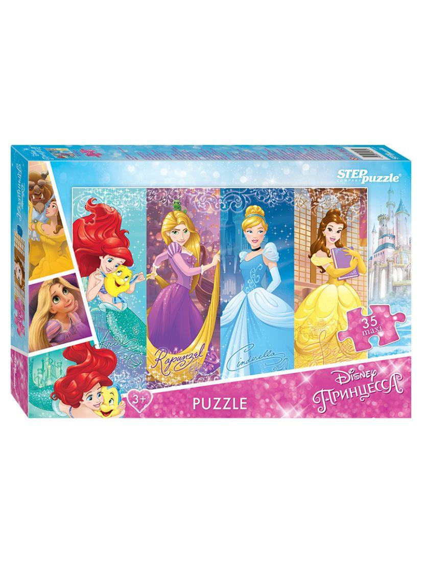Пазл «Disney Принцессы» 35 MAXI элемента