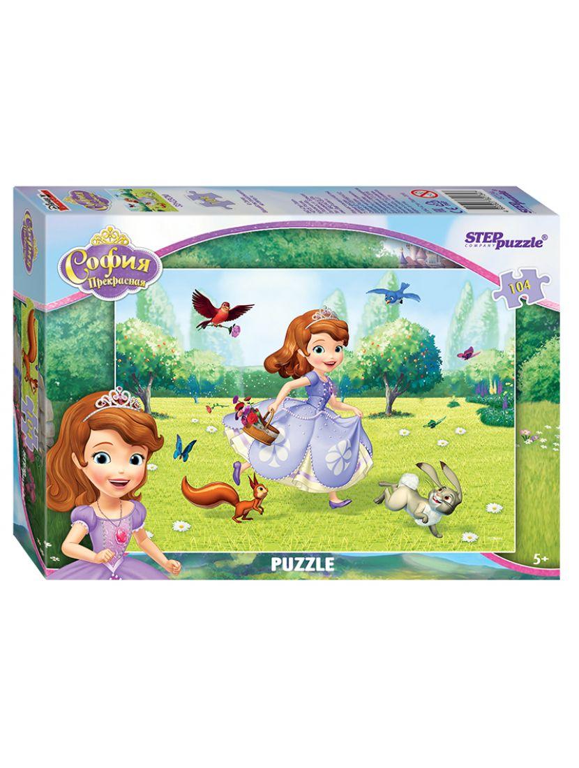 Пазл   «Disney Принцесса София» 104 элемента