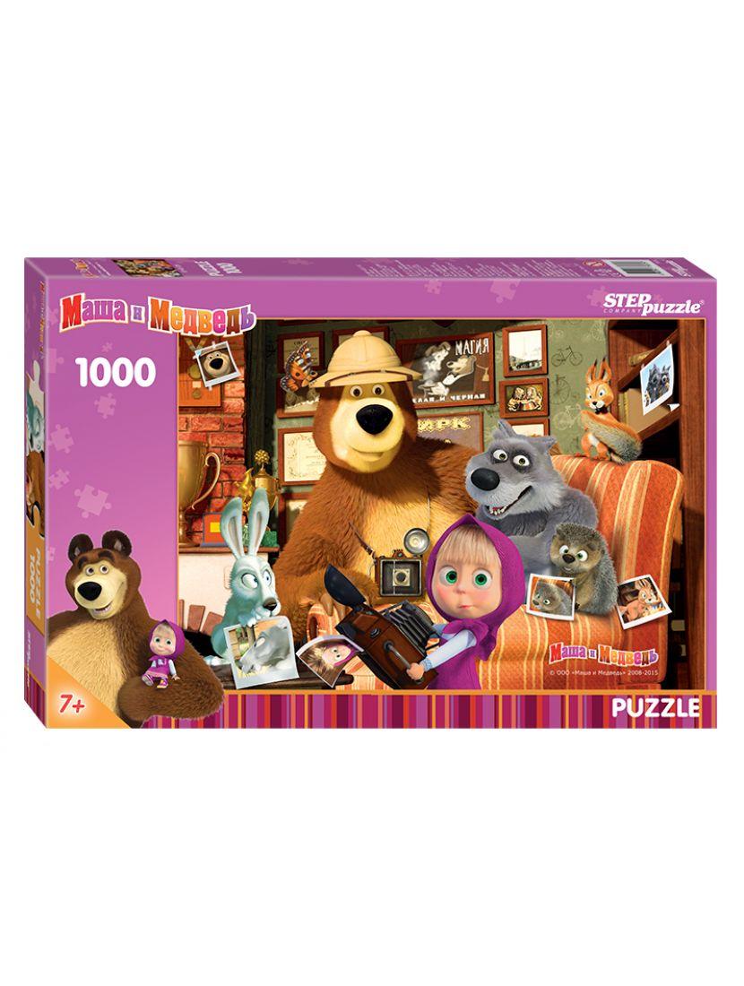 Пазл «Маша и Медведь (Анимаккорд)» 1000 элементов