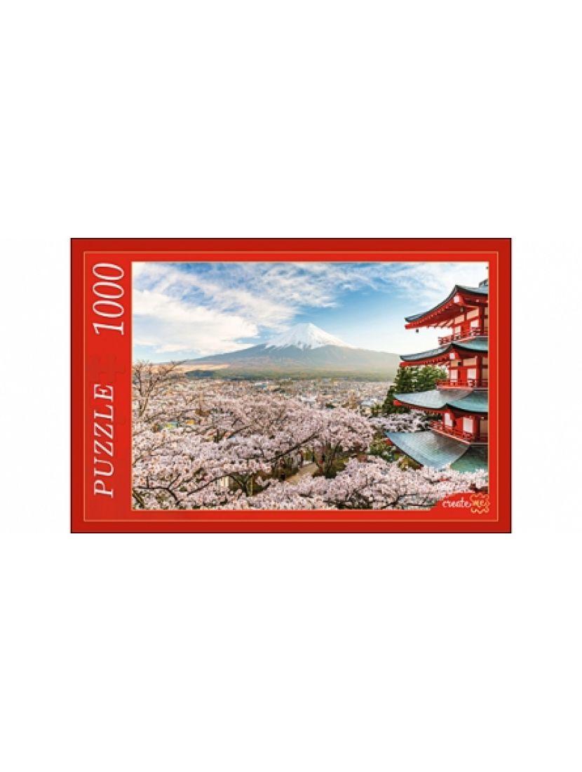 Пазл «Цветущая сакура» 1000 элементов