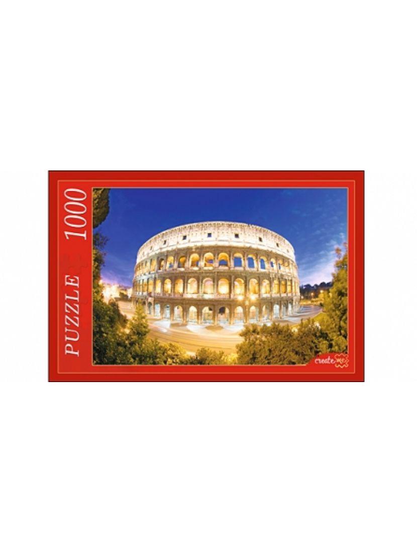 Пазл «Колизей в вечернем освещении» 1000 элементов