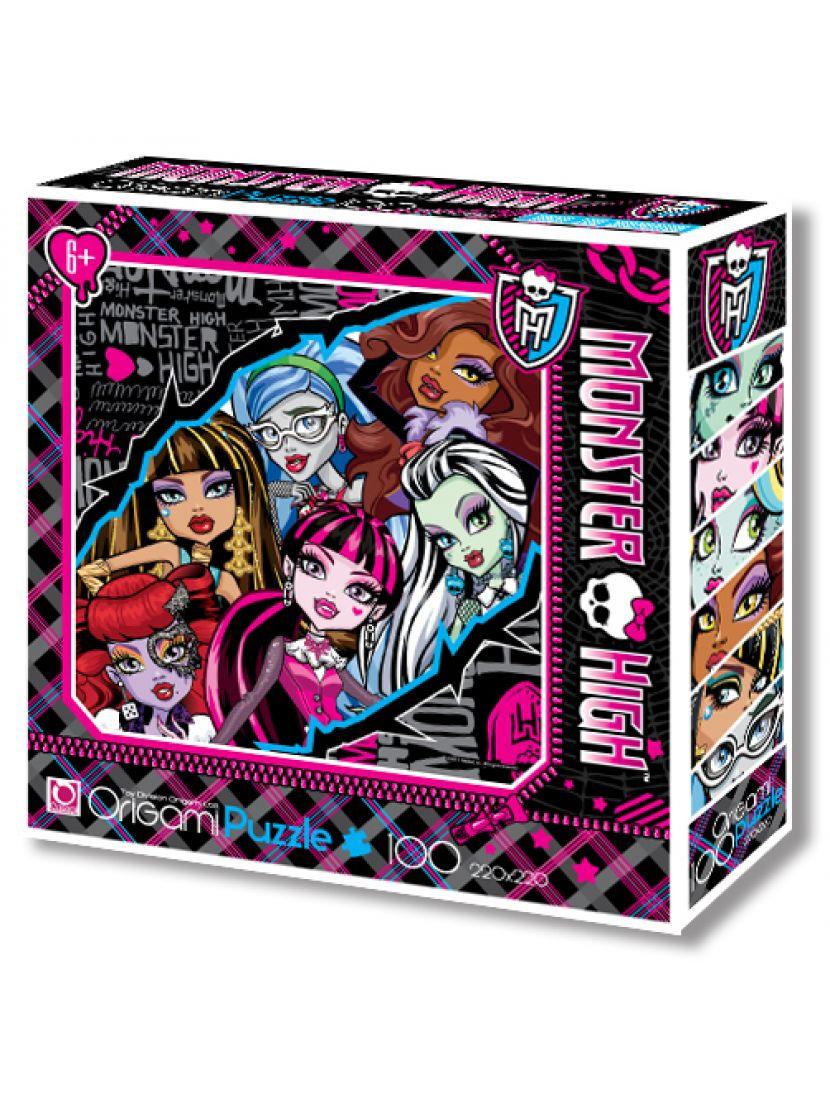 Пазл «Monster High» 100 элементов