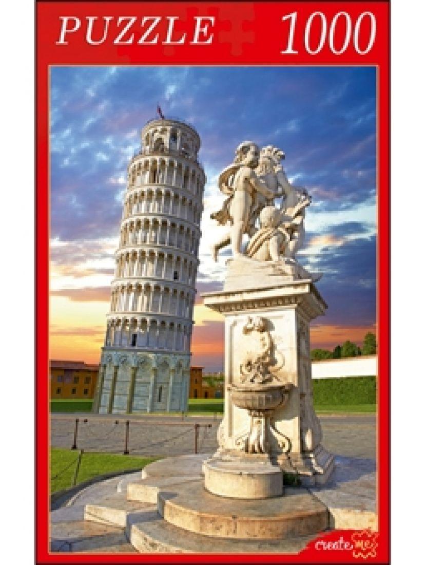 Пазл «Пизанская башня на закате» 1000 элементов