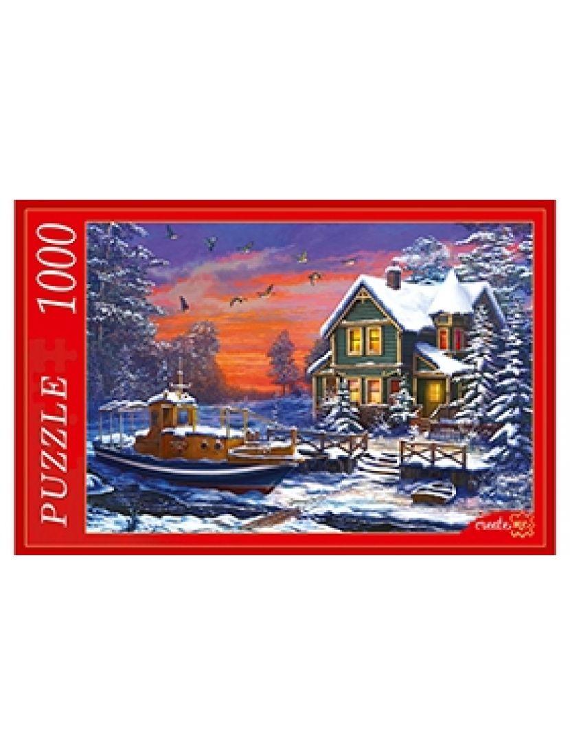 Пазл «Зимний домик» 1000 элементов