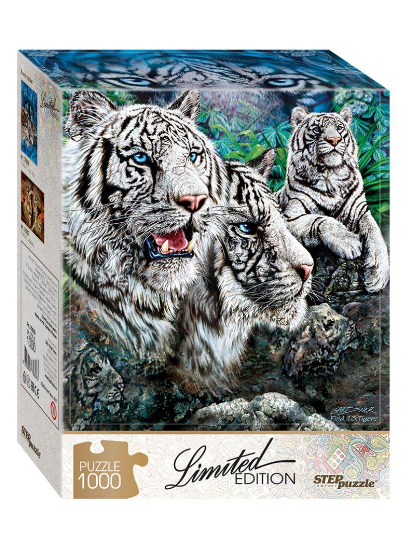 Пазл «Найди 13 тигров (Limited Edition)» 1000 элементов