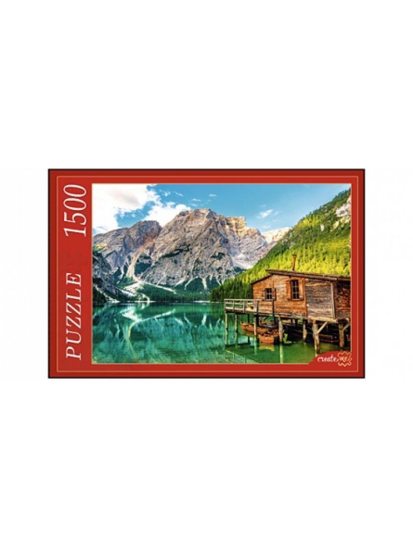 Пазл «Альпы, озеро Брайес» 1500 элементов