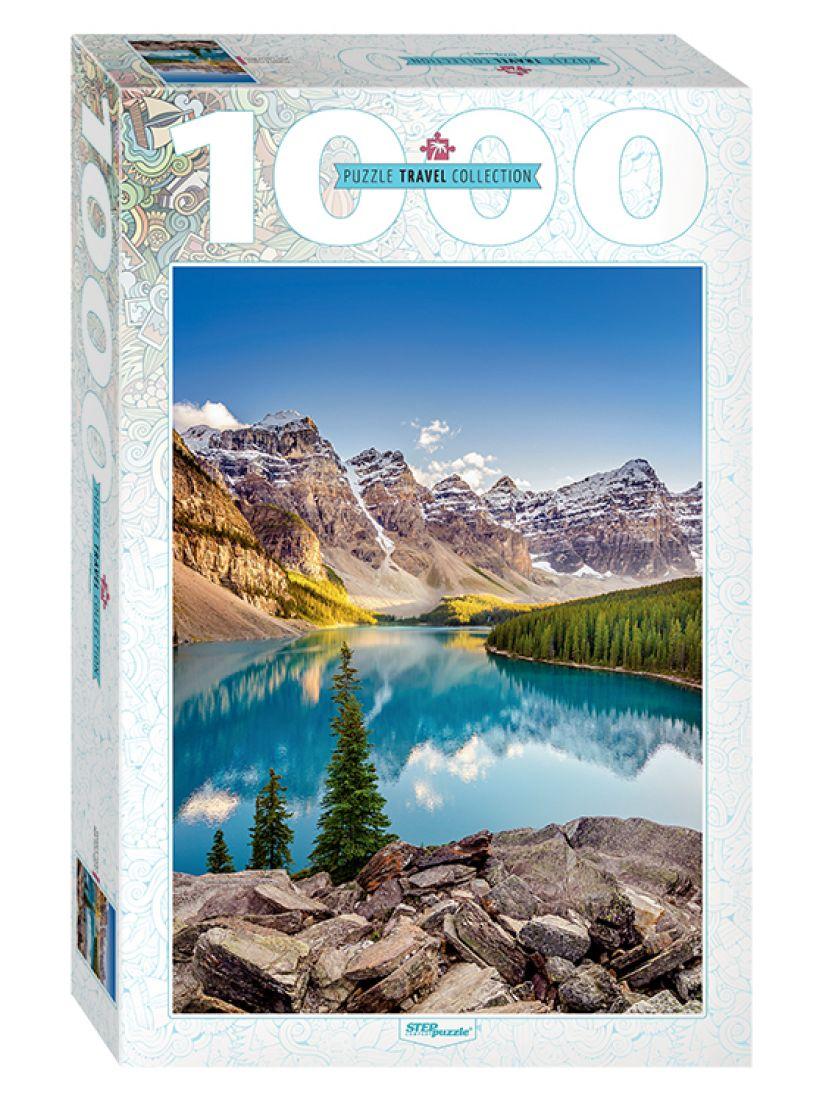 Пазл «Озеро в горах» 1000 элементов (Travel Collection)